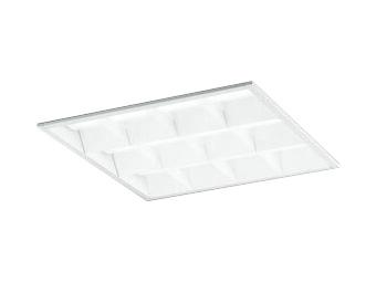XD466015P3DLED-スクエア LEDユニット型ベースライトスタンダードタイプ 450シリーズ埋込型 ルーバー付 埋込穴450非調光 温白色 FHP32W×4灯相当オーデリック 施設照明 オフィス照明 物販店照明 天井照明