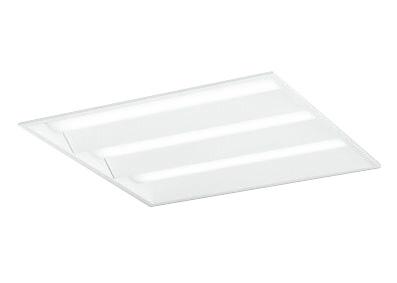 ●オーデリック 照明器具LED-SQUARE LEDベースライト LEDユニット型FHP45W×4灯クラス(省電力タイプ) □600埋込型 ルーバー無 非調光 温白色XD466017P2D