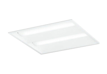 オーデリック 照明器具LED-SQUARE LEDベースライト LEDユニット型FHP32W×4灯クラス(省電力タイプ) □450埋込型 ルーバー無 非調光 温白色XD466019P2D