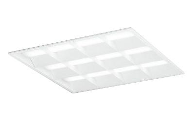 ●オーデリック 照明器具LED-SQUARE LEDベースライト LEDユニット型FHP45W×3灯クラス(省電力タイプ) □600埋込型 ルーバー付 非調光 白色XD466029P1C