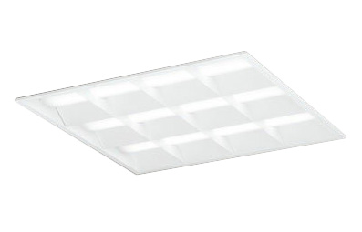 ●XD466029P1DLED-スクエア LEDユニット型ベースライト省電力タイプ 600シリーズ埋込型 ルーバー付 埋込穴600非調光 温白色 FHP45W×3灯相当オーデリック 施設照明 オフィス照明 物販店照明 天井照明