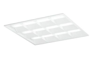 ●オーデリック 照明器具LED-SQUARE LEDベースライト LEDユニット型FHP45W×4灯クラス(省電力タイプ) □600埋込型 ルーバー付 非調光 昼白色XD466029P2B
