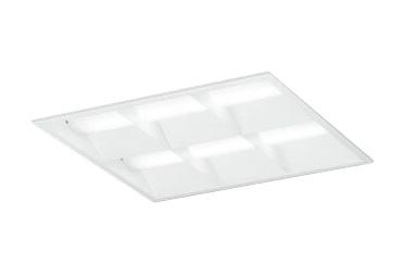 XD466031P2DLED-スクエア LEDユニット型ベースライト省電力タイプ 450シリーズ埋込型 ルーバー付 埋込穴450非調光 温白色 FHP32W×4灯相当オーデリック 施設照明 オフィス照明 物販店照明 天井照明
