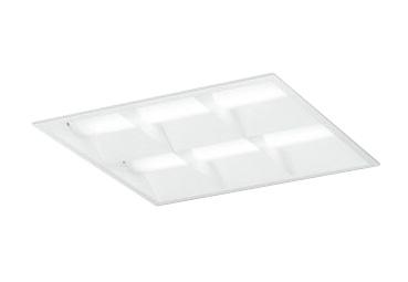XD466032P1DLED-スクエア LEDユニット型ベースライト省電力タイプ 450シリーズ埋込型 ルーバー付 埋込穴450PWM調光 温白色 FHP32W×3灯相当オーデリック 施設照明 オフィス照明 物販店照明 天井照明