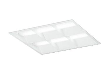 XD466032P2BLED-スクエア LEDユニット型ベースライト省電力タイプ 450シリーズ埋込型 ルーバー付 埋込穴450PWM調光 昼白色 FHP32W×4灯相当オーデリック 施設照明 オフィス照明 物販店照明 天井照明