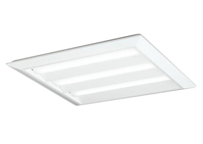 ●XL501014P1DLED-スクエア LEDユニット型ベースライト省電力タイプ 600シリーズ直付/埋込兼用型 ルーバー無 埋込穴680非調光 温白色 FHP45W×3灯相当オーデリック 施設照明 オフィス照明 物販店照明 天井照明