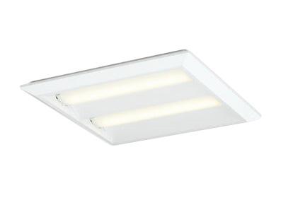 XL501016P2ELED-スクエア LEDユニット型ベースライト省電力タイプ 450シリーズ直付/埋込兼用型 ルーバー無 埋込穴500非調光 電球色 FHP32W×4灯相当オーデリック 施設照明 オフィス照明 物販店照明 天井照明