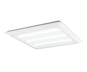 XL501024B4DLED-スクエア LEDユニット型ベースライトスタンダードタイプ 600シリーズ直付/埋込兼用型 ルーバー無 埋込穴680Bluetooth調光 温白色 FHP45W×3灯相当オーデリック 施設照明 オフィス照明 物販店照明 天井照明