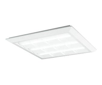 オーデリック 照明器具LED-SQUARE LEDスクエアベースライト 直付/埋込兼用型 ルーバー付LEDユニット型 PWM調光 温白色 FHP45W×4灯相当XL501027P4D