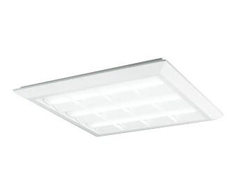 XL501028B4CLED-スクエア LEDユニット型ベースライトスタンダードタイプ 600シリーズ直付/埋込兼用型 ルーバー付 埋込穴680Bluetooth調光 白色 FHP45W×3灯相当オーデリック 施設照明 オフィス照明 物販店照明 天井照明
