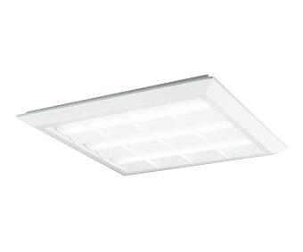 XL501028P4CLED-スクエア LEDユニット型ベースライトスタンダードタイプ 600シリーズ直付/埋込兼用型 ルーバー付 埋込穴680PWM調光 白色 FHP45W×3灯相当オーデリック 施設照明 オフィス照明 物販店照明 天井照明