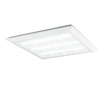 XL501035P4BLED-スクエア LEDユニット型ベースライトスタンダードタイプ 600シリーズ直付/埋込兼用型 ルーバー付 埋込穴680非調光 昼白色 FHP45W×4灯相当オーデリック 施設照明 オフィス照明 物販店照明 天井照明