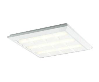 XL501038P3ELED-スクエア LEDユニット型ベースライトスタンダードタイプ 450シリーズ直付/埋込兼用型 ルーバー付 埋込穴500非調光 電球色 FHP32W×3灯相当オーデリック 施設照明 オフィス照明 物販店照明 天井照明