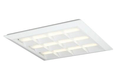 ●XL501052P1ELED-スクエア LEDユニット型ベースライト省電力タイプ 600シリーズ直付/埋込兼用型 ルーバー付 埋込穴680非調光 電球色 FHP45W×3灯相当オーデリック 施設照明 オフィス照明 物販店照明 天井照明
