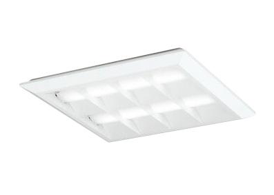 XL501054P2BLED-スクエア LEDユニット型ベースライト省電力タイプ 450シリーズ直付/埋込兼用型 ルーバー付 埋込穴500非調光 昼白色 FHP32W×4灯相当オーデリック 施設照明 オフィス照明 物販店照明 天井照明