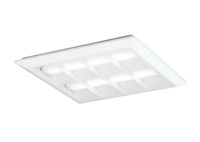 XL501054P2DLED-スクエア LEDユニット型ベースライト省電力タイプ 450シリーズ直付/埋込兼用型 ルーバー付 埋込穴500非調光 温白色 FHP32W×4灯相当オーデリック 施設照明 オフィス照明 物販店照明 天井照明