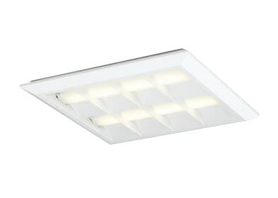 XL501054P2ELED-スクエア LEDユニット型ベースライト省電力タイプ 450シリーズ直付/埋込兼用型 ルーバー付 埋込穴500非調光 電球色 FHP32W×4灯相当オーデリック 施設照明 オフィス照明 物販店照明 天井照明