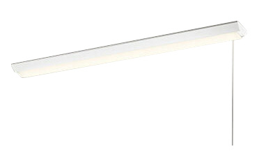 オーデリック 照明器具LED-LINE LEDベースライト 直付型 逆富士型(プルスイッチ付) 40形LEDユニット型 非調光 4000lmタイプ電球色 FLR40W×2灯相当XL501102P2E
