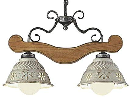 AP40043Lilum ITALY LEDペンダントライト Antico Porecellana 2灯ランプ交換可能型 LED14.0W 要電気工事非調光 電球色 白熱球100W×2灯相当コイズミ照明 照明器具 洋風 おしゃれ リビング用 ヨーロッパ風照明