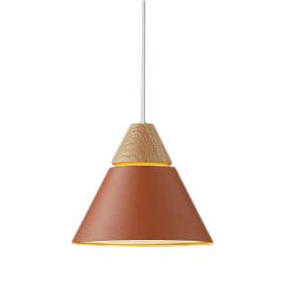 コイズミ照明 照明器具LEDペンダントライト NATURAL NORDIC 赤 Oak A-pendant フランジタイプ白熱球60W相当 電球色 非調光AP50633