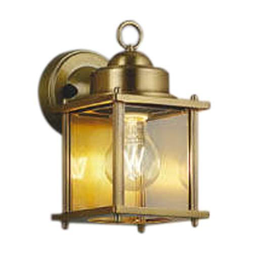 AU49074Lエクステリア LEDポーチ灯非調光 電球色 防雨型 白熱球40W相当コイズミ照明 照明器具 門灯 玄関 屋外用照明