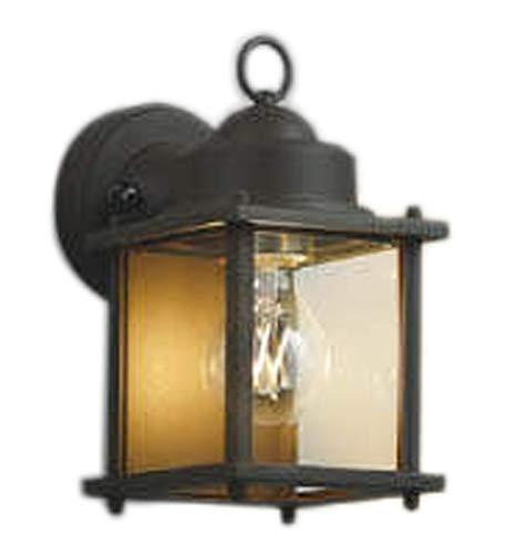 AU49075Lエクステリア LEDポーチ灯非調光 電球色 防雨型 白熱球40W相当コイズミ照明 照明器具 門灯 玄関 屋外用照明