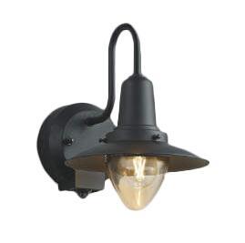 AU50361エクステリア LEDポーチ灯人感センサ タイマー付ON-OFFタイプ 非調光 電球色 防雨型 白熱球40W相当コイズミ照明 照明器具 門灯 玄関 屋外用照明