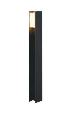AU50435エクステリア LED一体型 ガーデンライト arkiaシリーズ拡散タイプ 700mmタイプ非調光 電球色 防雨型 白熱球60W相当コイズミ照明 照明器具 庭 入口 屋外用 ポール灯