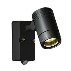 大光電機 照明器具LEDアウトドアスポットライト 超広角60°人感センサー付 ON/OFFタイプI電球色 白熱灯80W相当DOL-4407YB