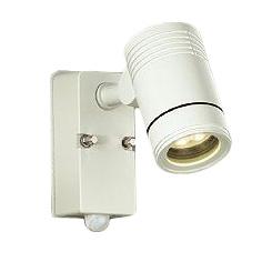 大光電機 照明器具LEDアウトドアスポットライト 広角25°人感センサー付 ON/OFFタイプI電球色 ダイクロハロゲン65W相当DOL-4589YW