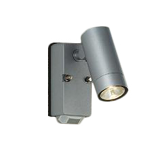 大光電機 照明器具LEDアウトドアライト ハイパワースポットライト φ60タイプ 人感センサー付電球色 12Vダイクロハロゲン65W相当 ON/OFFタイプIDOL-4962YS