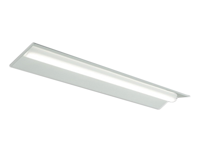 MY-B43033/22/N AHZLEDライトユニット形ベースライト Myシリーズ 埋込形 連結用 連続取付専用タイプ 40形 300幅 全長1224(リニューアルサイズ) 先端用FHF32形×1灯器具 高出力相当 一般タイプ 連続調光 昼白色三菱電機 施設照明
