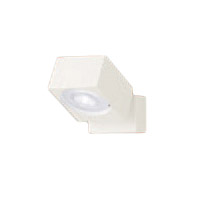 XAS1020NCE1LEDスポットライト LEDフラットランプ対応 天井・壁面(上・下向き)・据置取付兼用 直付 昼白色アルミダイカストセード 集光タイプ 調光不可 110Vダイクール電球60形1灯器具相当Panasonic 照明器具