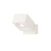 XAS1020VCB1LEDスポットライト LEDフラットランプ対応 天井・壁面(上・下向き)・据置取付兼用 直付 温白色アルミダイカストセード 集光タイプ 調光可能110Vダイクール電球60形1灯器具相当Panasonic 照明器具