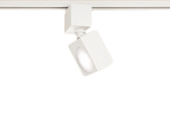 XAS3500VCB1LEDスポットライト LEDフラットランプ対応 天井付・壁付 配線ダクト取付型 温白色アルミダイカストセード 拡散タイプ 調光可能 白熱電球100形1灯器具相当Panasonic 照明器具