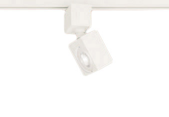 XAS3520VCB1LEDスポットライト LEDフラットランプ対応 天井付・壁付 配線ダクト取付型 温白色アルミダイカストセード 集光タイプ 調光可能110Vダイクール電球100形1灯器具相当Panasonic 照明器具