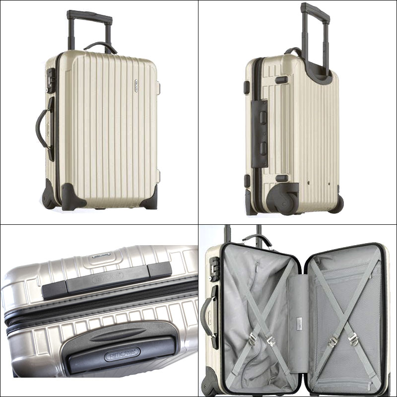 RIMOWA rimowa 行李箱带回莎莎莎莎普罗赛克香槟 859.52 / 85952 2 轮
