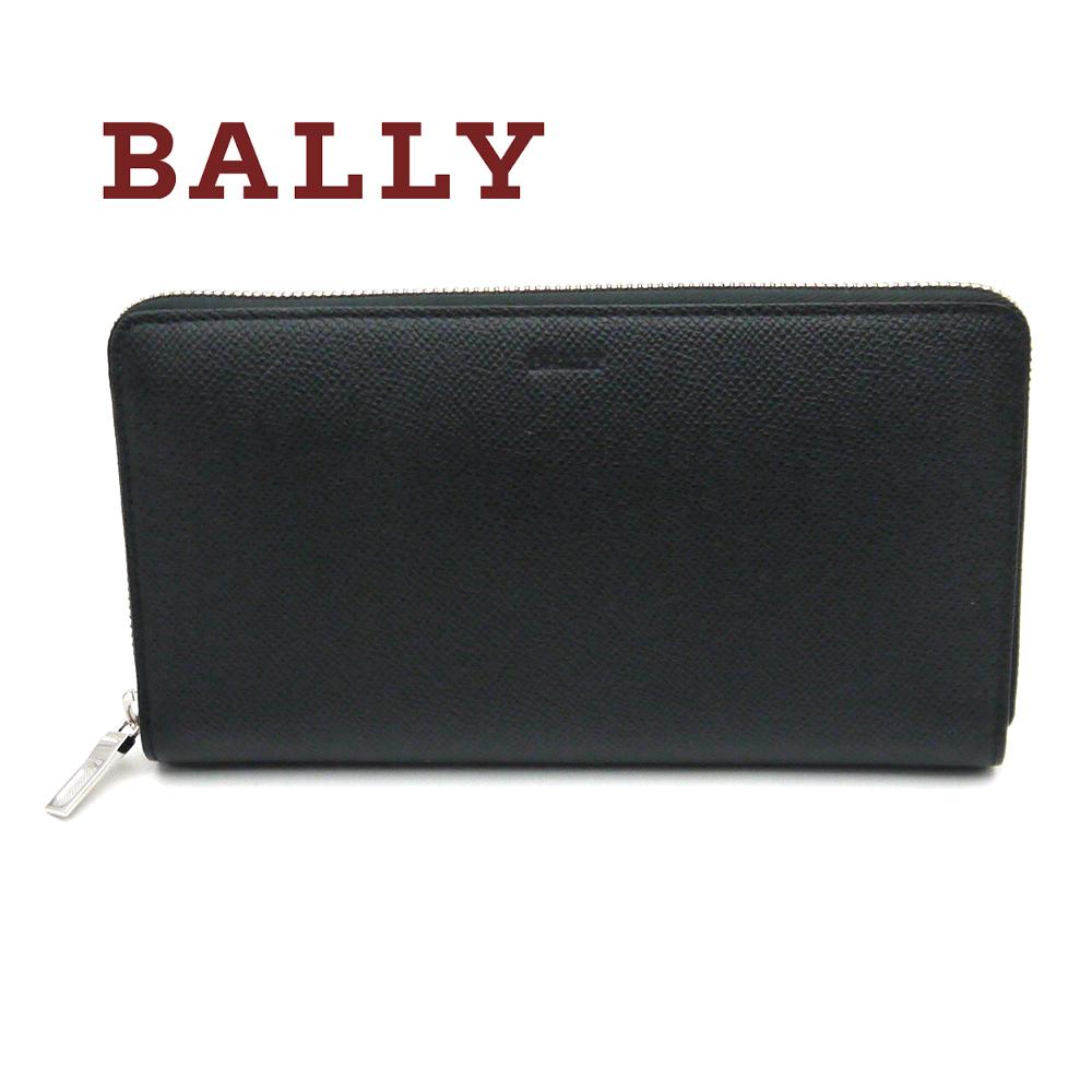 バリー/Bally ラウンド長財布 BRIGADIERE BALEN.B ブラック×レッド【即発送可能】