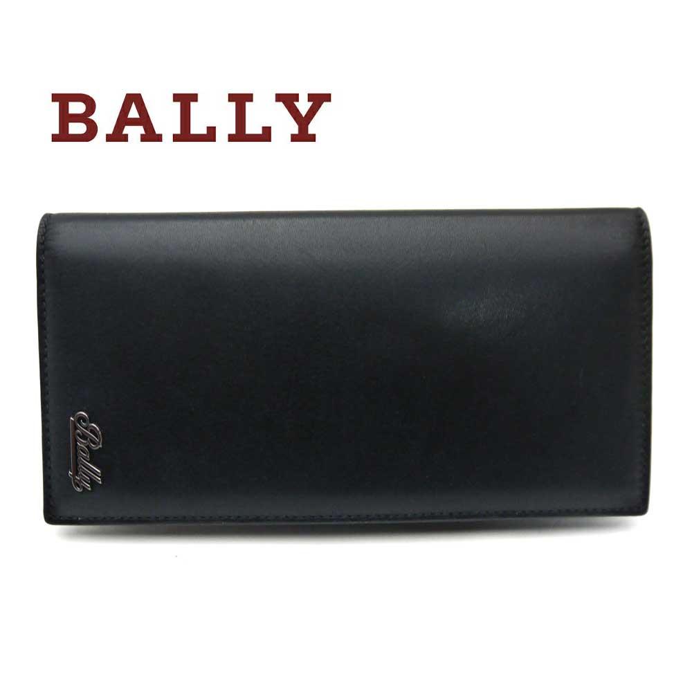 バリー/Bally メンズファスナー付き長財布 BALIRO.MS 10 ブラック【即発送可能】