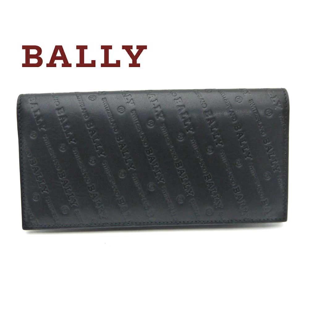バリー/Bally メンズファスナー付き長財布 BALIRO.OB ブラック【即発送可能】