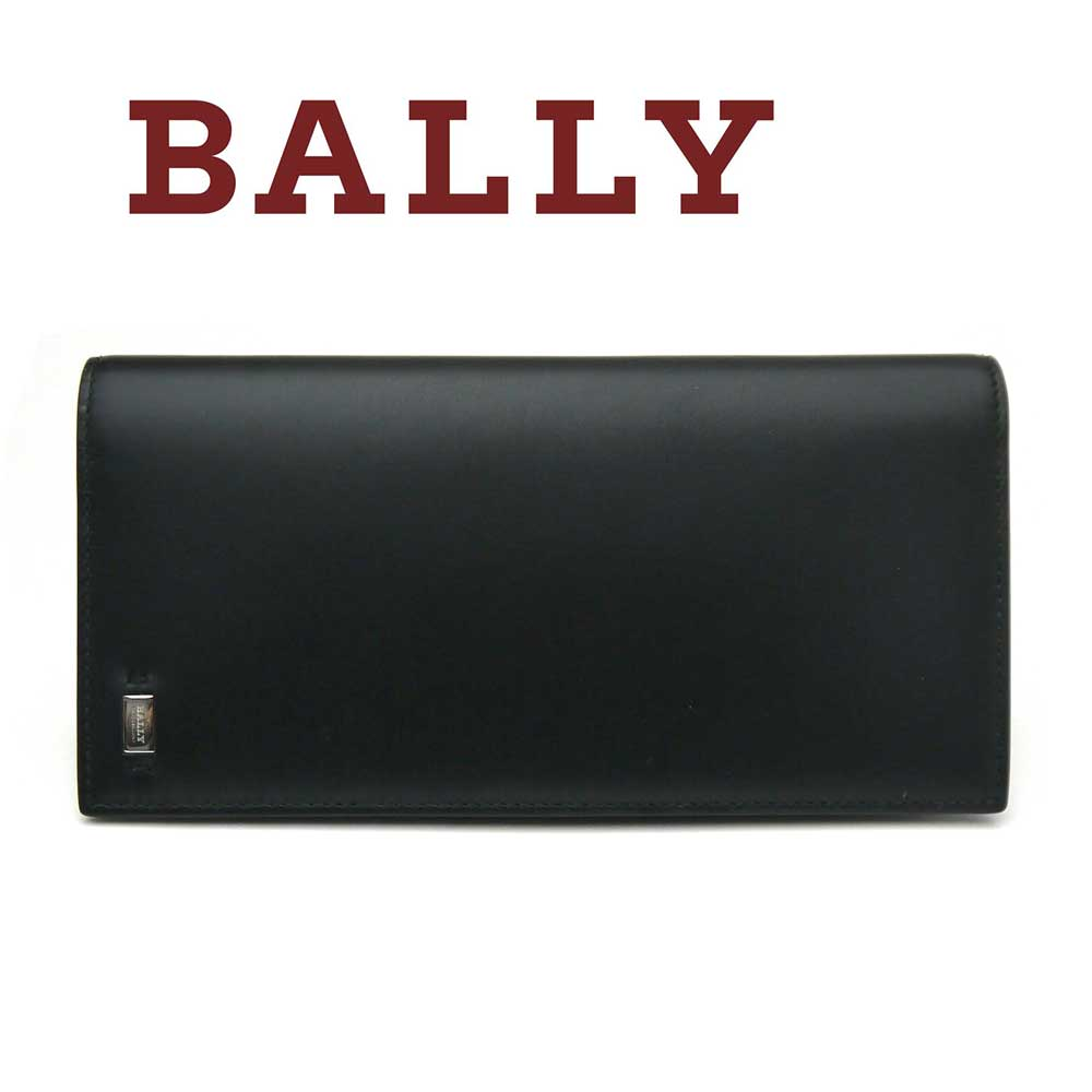 バリー/Bally メンズ長財布 MOLIVER ブラック【即発送可能】
