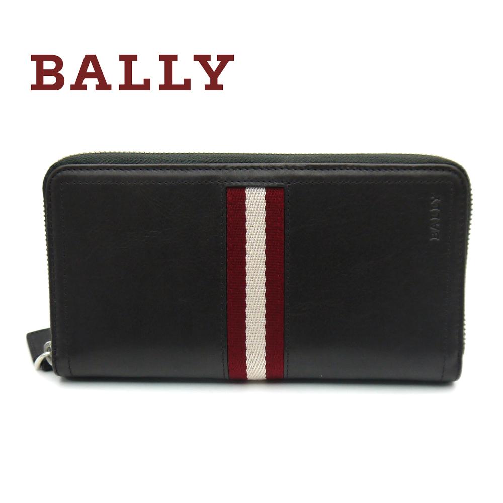 バリー/Bally ラウンド長財布 TRAINSPOTTING TASYO 271 チョコレートブラウン