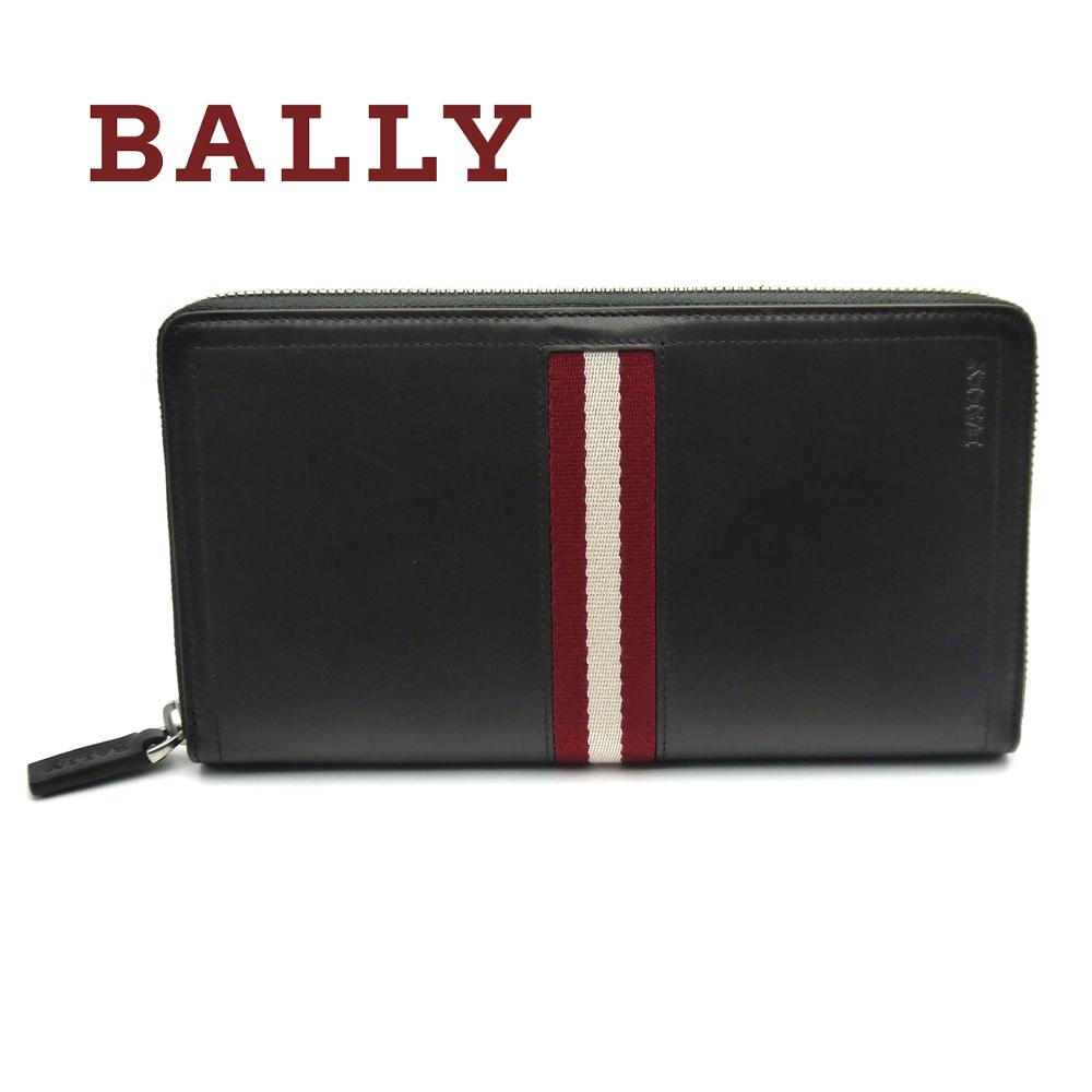 バリー/Bally ラウンド長財布 TRAINSPOTTING TEVIN 271 チョコレートブラウン【即発送可能】