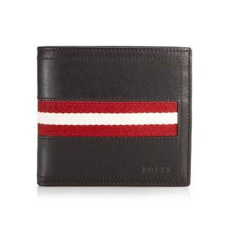 バリー/Bally 二つ折り小銭入れつき財布 TRAINSPOTTING TYE 271 チョコレートブラウン
