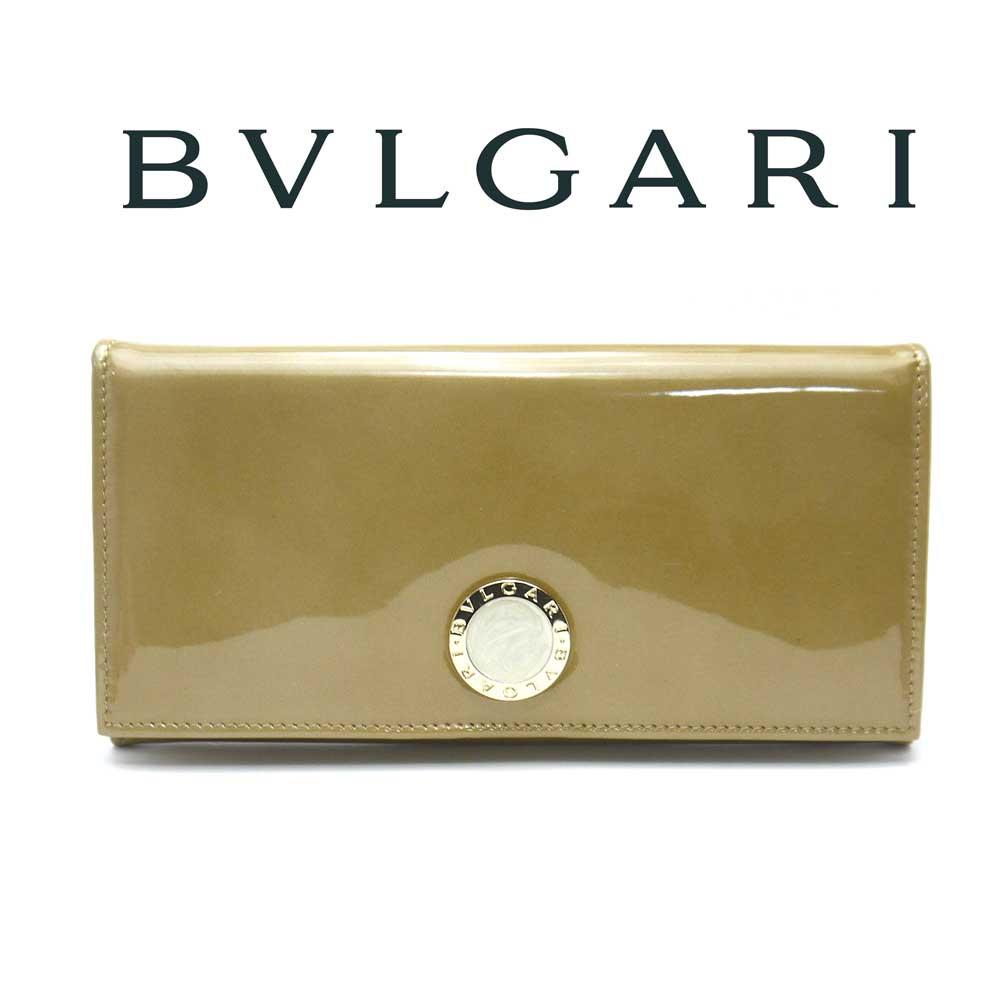 ブルガリ/BVLGARI ファスナー付き長財布 BB COLORE コローレ 33761