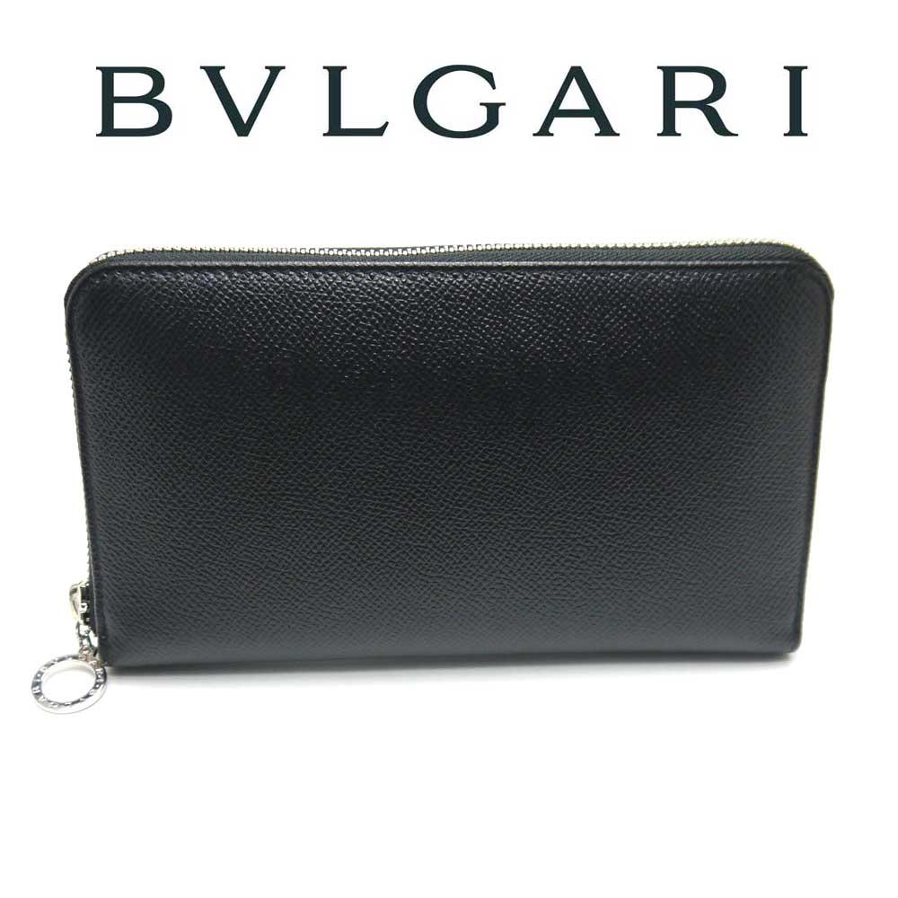 ブルガリ/BVLGARI ラウンドファスナー長財布 BULGARI BULGARI  36933【即発送可能】
