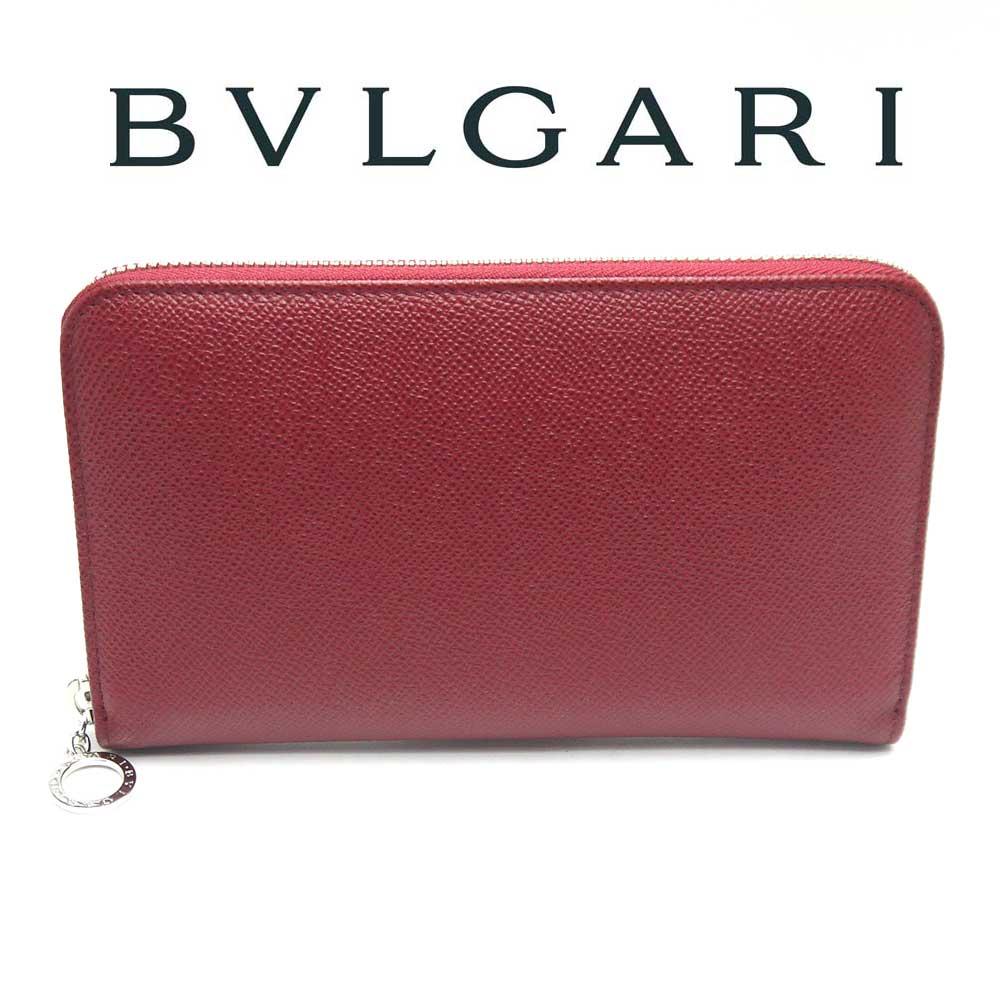 ブルガリ/BVLGARI ラウンドファスナー長財布 BULGARI BULGARI  37340