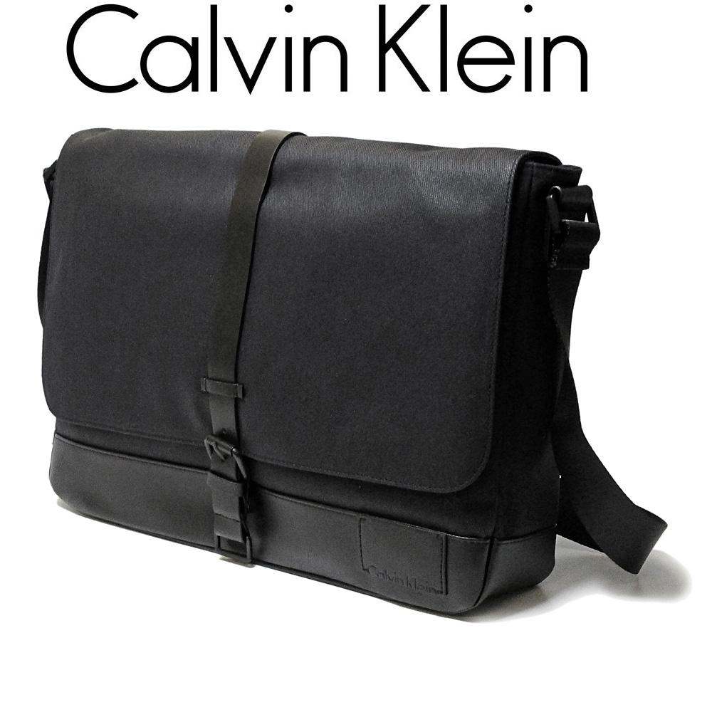 カルバン・クライン ジーンズ/Calvin Klein Jeans メンズ メッセンジャーバッグ ショルダーバッグ  29750196 ブラック【即発送可能】