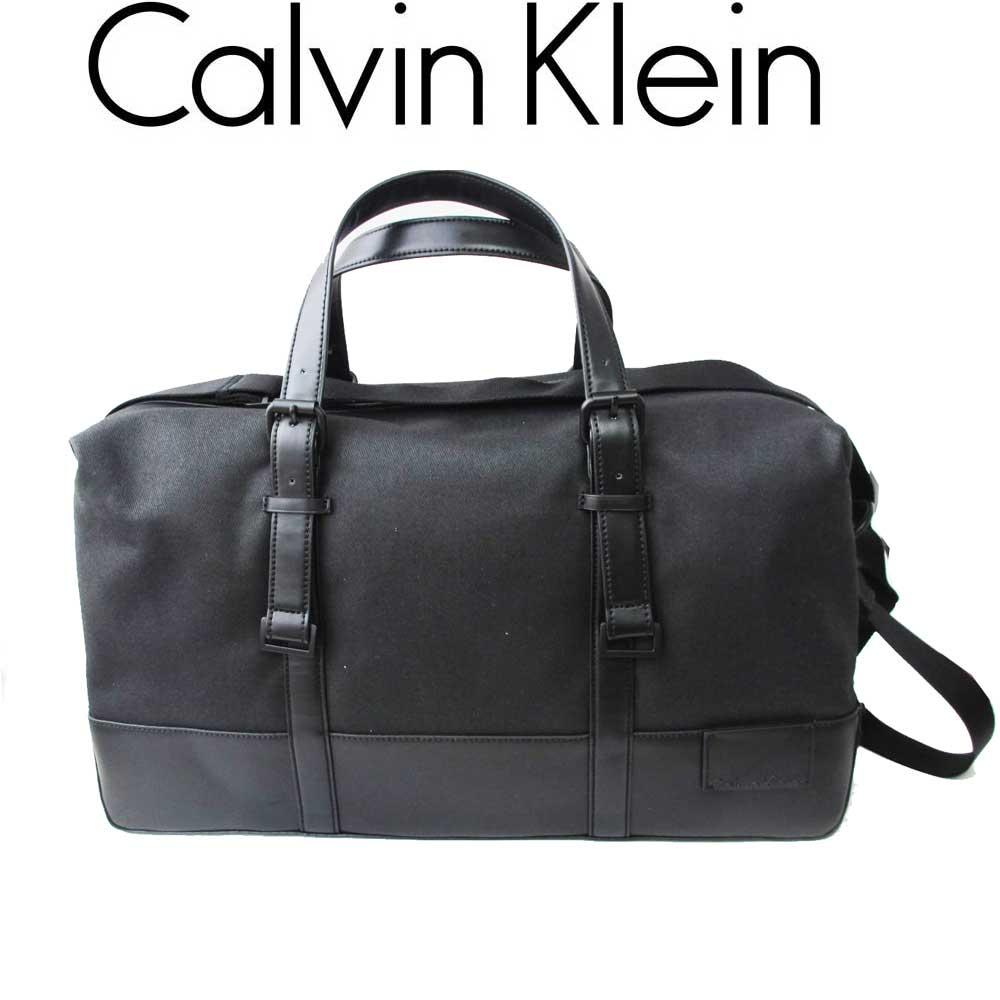 カルバン・クライン ジーンズ/Calvin Klein Jeans メンズ ボストンパック 750220 ブラック【即発送可能】