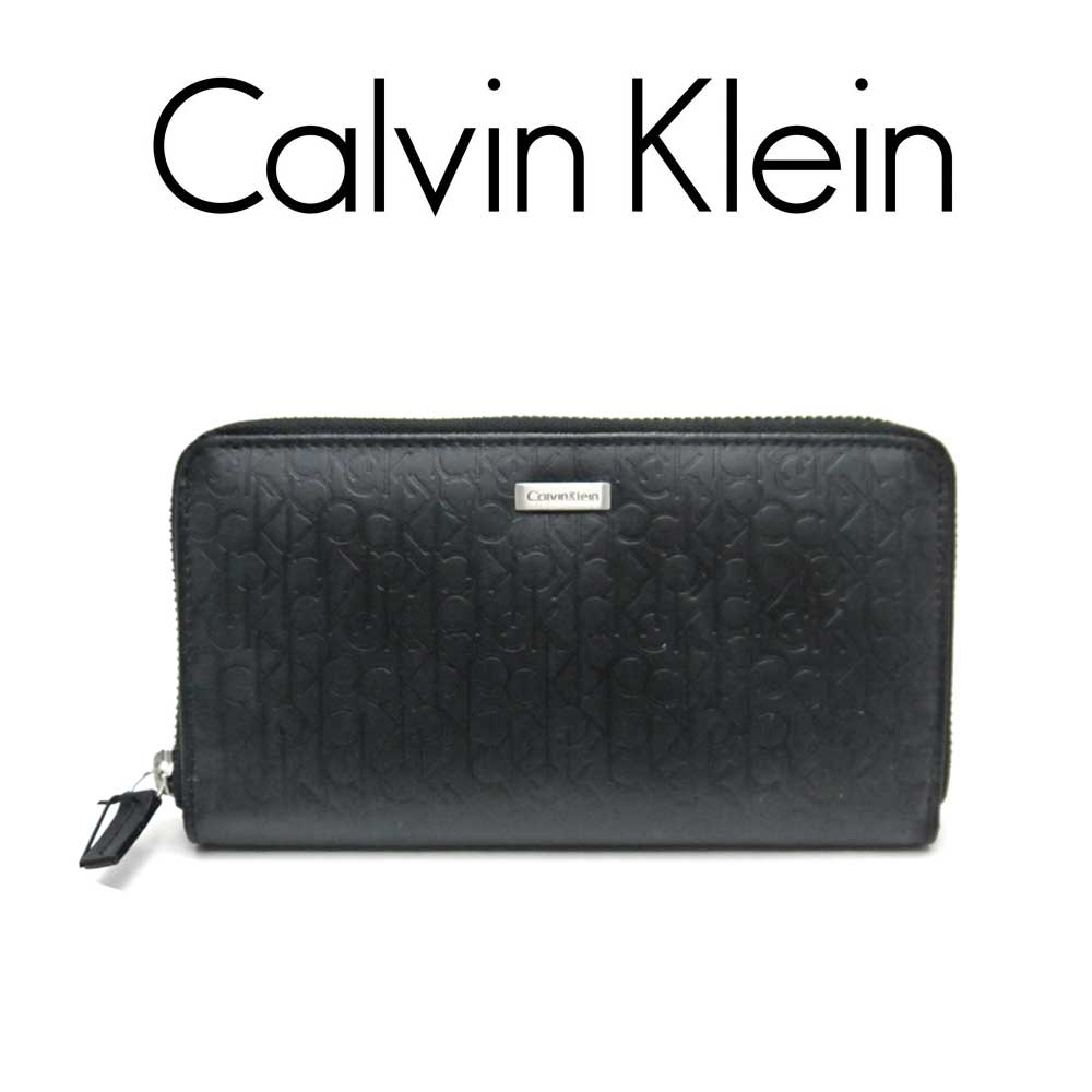 カルバン・クライン/Calvin Klein メンズラウンド財布・74287【即発送可能】